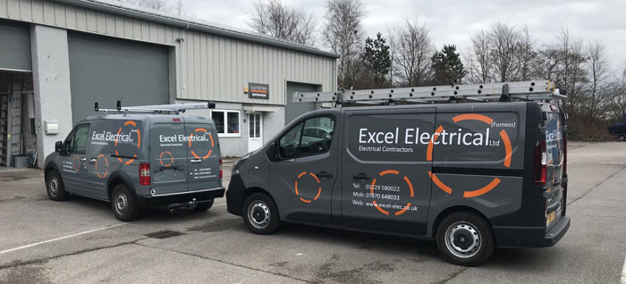 Excel Electrical Furness fleet
