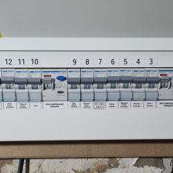16 Way configurable consumer unit